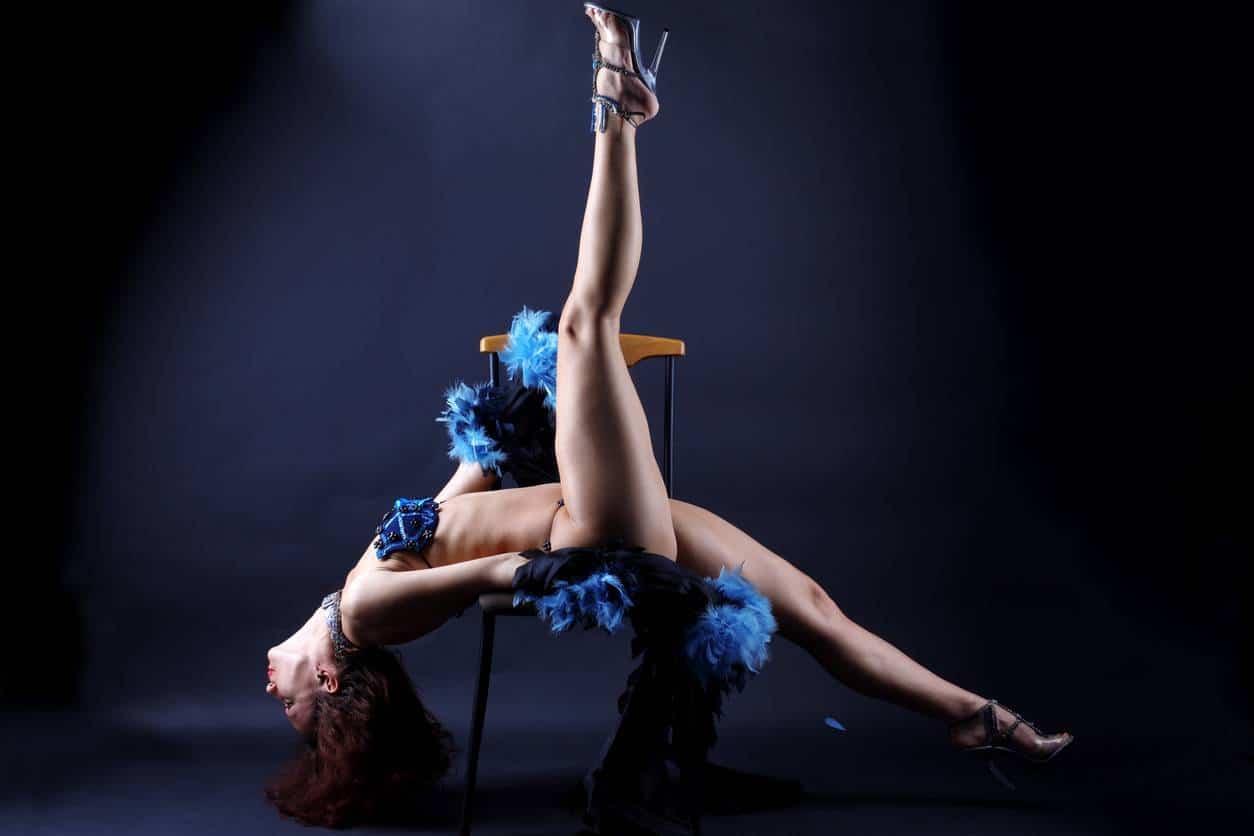 stripteaseuse EVG